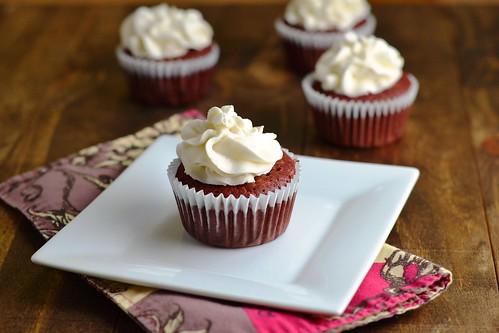 cupcakes, gluten-free, sugar-free, red velvet