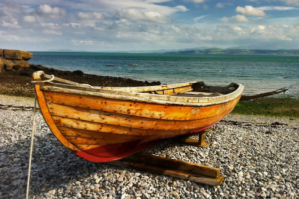 Boat, Moelfre, Anglesey