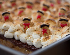 Teddy Bear Killer Dessert Bars