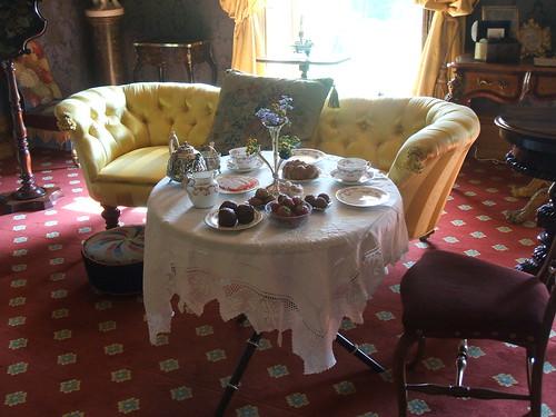 Afternoon tea at Hughenden Manor