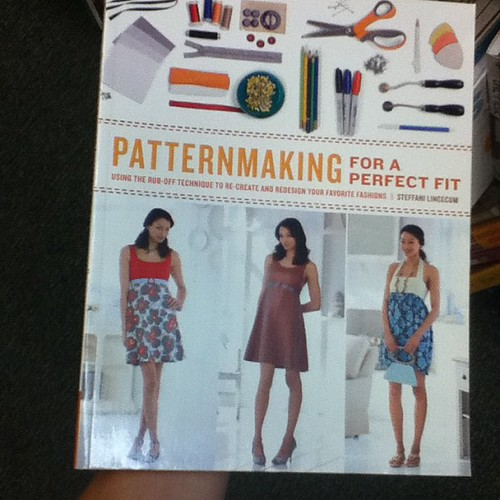 If I'm going to keep making clothes I should probably read something like this.