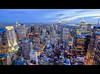 Midtown New York City at Night (RBudhu) Tags: newyorkcity rockefellercenter timessquare empirestatebuilding gothamist bluehour statueofliberty gotham lowermanhattan topoftherock 30rock gothamcity bankofamericatower midtownskyline newyorkcitysunset midtownmanhattanskyline empirestateofmind bluehournewyork