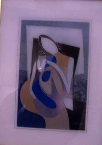 Mother and Child - Painting - Original Plexiglass