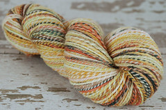"FFS ""Munki Sushi"" 2ply Superwash Merino Handspun for Auction Bidders"