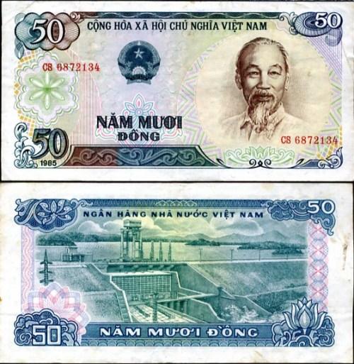 50 Dong Vietnam 1985, Pick 96