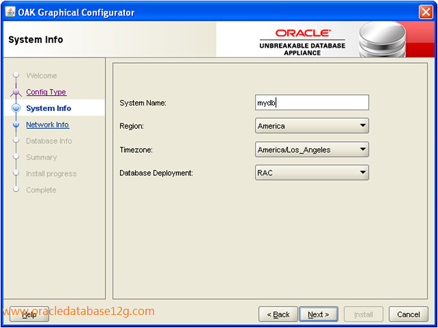 Oracle Appliance Manager Configurator3