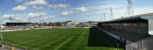 Station Park  Forfar, Panorama from South Terrace