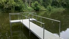 Removable Dock Railing