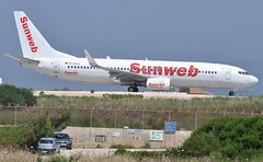Sunweb (XL Airways) D-AXLE (Cleveleys Flyer) Tags: kefalonia boeing737 greekisles daxle sunweb xlairwaysgermany