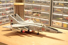Foxbat (psiaki) Tags: airplane fighter lego jet 25 soviet mig gurevich mikoyan foxbat