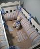 No berço...... (CANELA COOL by CAROL) Tags: urso lençol trocador kitberço