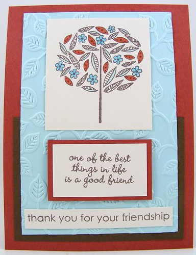Friendship Thank You Card