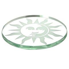 Roco Verre Spiegelglas onderzetters met zon (contemporaryheaven3) Tags: met zon roco verre onderzetters spiegelglas