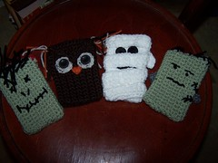 Spooky cell phone covers