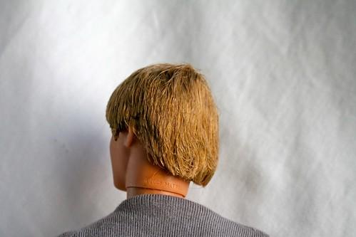 plastic hair