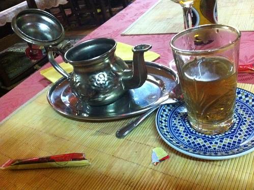 Santiago de Compostela | La Comida Restaurante | Té con hierbabuena
