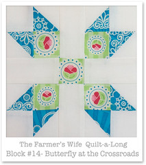 Farmer's Wife Quilt-a-Long - Block 14