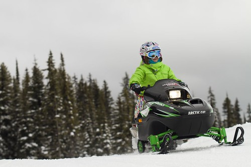 Big White snowmobiling