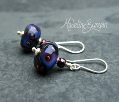 """Silver Glass Bubble Earrings • <a style=""""font-size:0.8em;"""" href=""""https://www.flickr.com/photos/37516896@N05/6194420043/"""" target=""""_blank"""">View on Flickr</a>"""