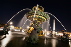 Fontaine des Mers - Place de la Concorde (Christophe Bailleux Photography) Tags: world voyage trip travel vacation holiday paris france tourism monument beautiful canon wonderful photography photo nice fantastic perfect europe foto tour place shot image awesome sightseeing eu visit location tourist best photograph journey concorde stunning destination sight traveling lovely visiting exploration incredible touring breathtaking westerneurope visite placedelaconcorde tourisme touriste parisbynight 1740f4 fontainedesmers fontainedesfleuves 5dmarkii christophebailleux httpblogcbphotofr