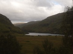 View from train Mallaig - Glenfinnan