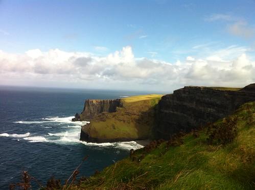 More cliffs, Ireland