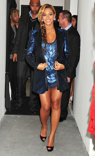 Beyonce Pulse Perfume launch