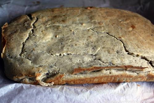 Pastel de hongos en canelón de queso gratinado (10)