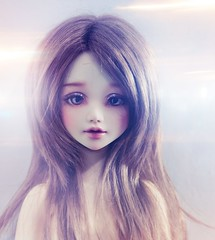 clover (Cyristine) Tags: girl ball lights doll bjd msd jointed unoa sist nomyens