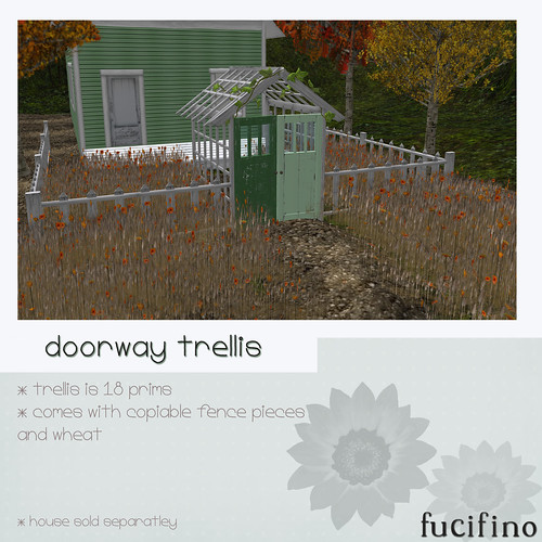 fucifino.doorway trellis for moody mondays