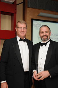 """John Easy, Head of the CBNL Test Group being named """"Proof-of-Concept and Pre-Sales Support Hero"""" at Spirent Communications Network Hero Awards"""