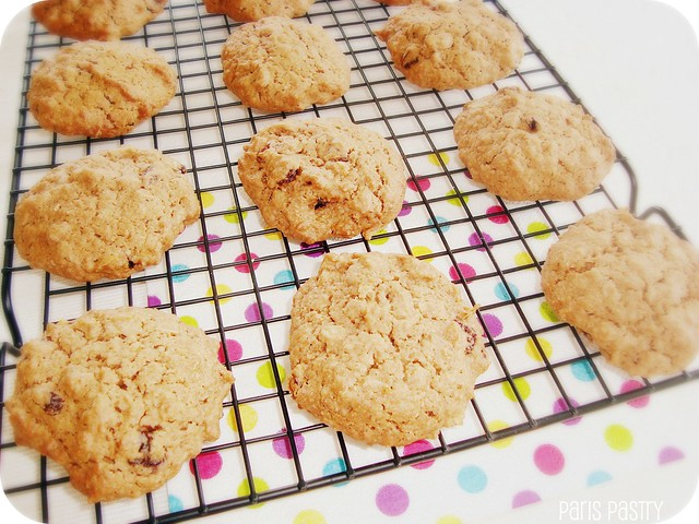 Healthy Oatmeal Cookies