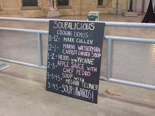 Soupalicious Demo's Saturday