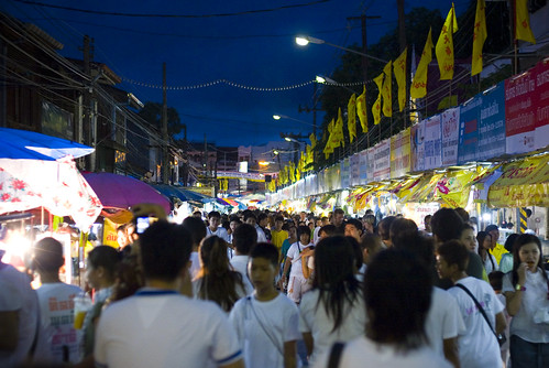 Ranong Road, Phuket during the vegetarian festival