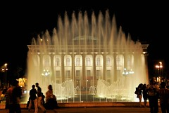 Water Curtain (Tay-FUN) Tags: water fountain pool night curtain baku gece fiskiye havuz perde baki
