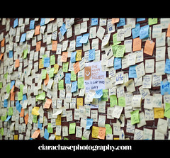 What makes you happy? (Ciara Chase Photography) Tags: happy sticky note