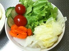 朝食サラダ(2011/10/3)