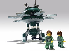 Q-15 Whirlwind (JonHall18) Tags: fighter lego aircraft helicopter fantasy scifi hover moc gyrocopter skyfi dieselpunk dieselpulp