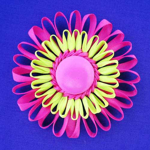 Handmade Flower Hair Clip or Brooch