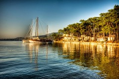 Marmaris, Turkey (Nejdet Duzen) Tags: trip travel sea vacation holiday reflection forest turkey yacht trkiye deniz yat marmaris tatil yansma orman turkei seyahat mula yalancboaz saariysqualitypictures mygearandme ringexcellence musictomyeyeslevel1