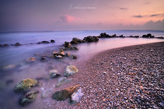 A little wall in the sea (J. Tiogran) Tags: longexposure morning sea color maana water mar twilight agua nikon rocks stones silk opeth tokina filter lee seda rocas julin silky piedras solana serrano crepsculo filtro largaexposicin widowpane d5000 1116mmf28 julinsolana nd03soft