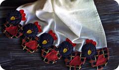 PaNo De PrAtO gALiNhAs (DoNa BoRbOlEtA. pAtCh) Tags: chickens handmade application galinhas panodeprato donaborboletapatchwork denyfonseca