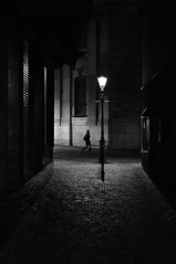 the dark alley