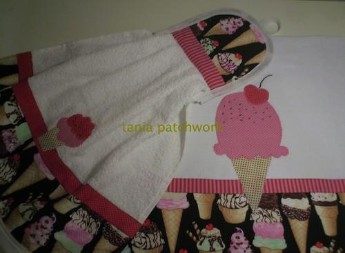 Kit Cozinha Ice Cream by tania patchwork