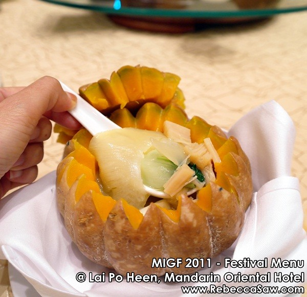 MIGF 2011 - Lai Po Heen, Mandarin Oriental-8