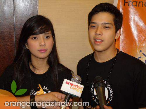 Maxene and Elmo Magalona