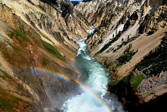 Rainbow (ChristineDepretto) Tags: travel summer usa mountain holiday colour nature water river photography landscapes rainbow nikon wow1 wow2 usavacation colorphotoaward flickraward nikonflickraward