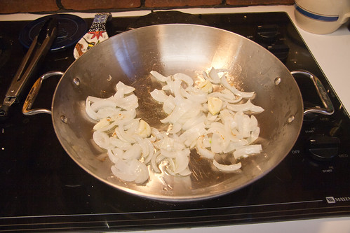 Onion and Garlic in Grapeseed Oil