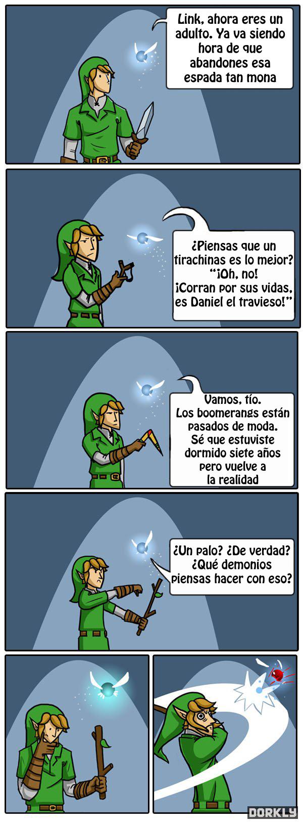 Viñeta Zelda