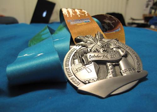 LB Marathon 2011 medal